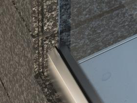 Staklene ograde Elegant - nasadni sistem CX50