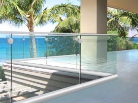 Staklene ograde Elegant - nasadni sistem S40