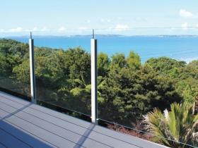 Staklene ograde Elegant - nasadni sistem Vista 200