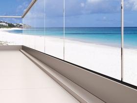 Staklene ograde Elegant - nasadni sistem M50