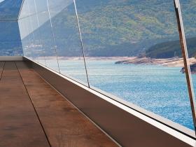 Staklene ograde Elegant - nasadni sistem RX50