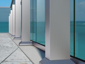 Staklene ograde Elegant - nasadni sistem Vista 420