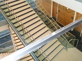 Staklene ograde Elegant - stranični sistem D50