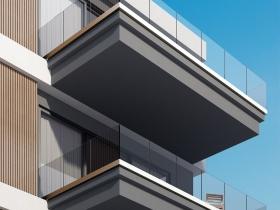 Staklene ograde Elegant - stranični sistem D55