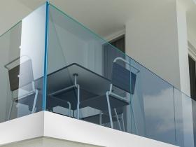 Staklene ograde Elegant - stranični sistem FX50