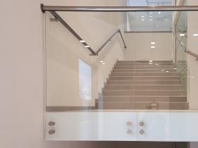 Staklene ograde Elegant - stranično tačkasti sistem AL50 - H&M Subotica