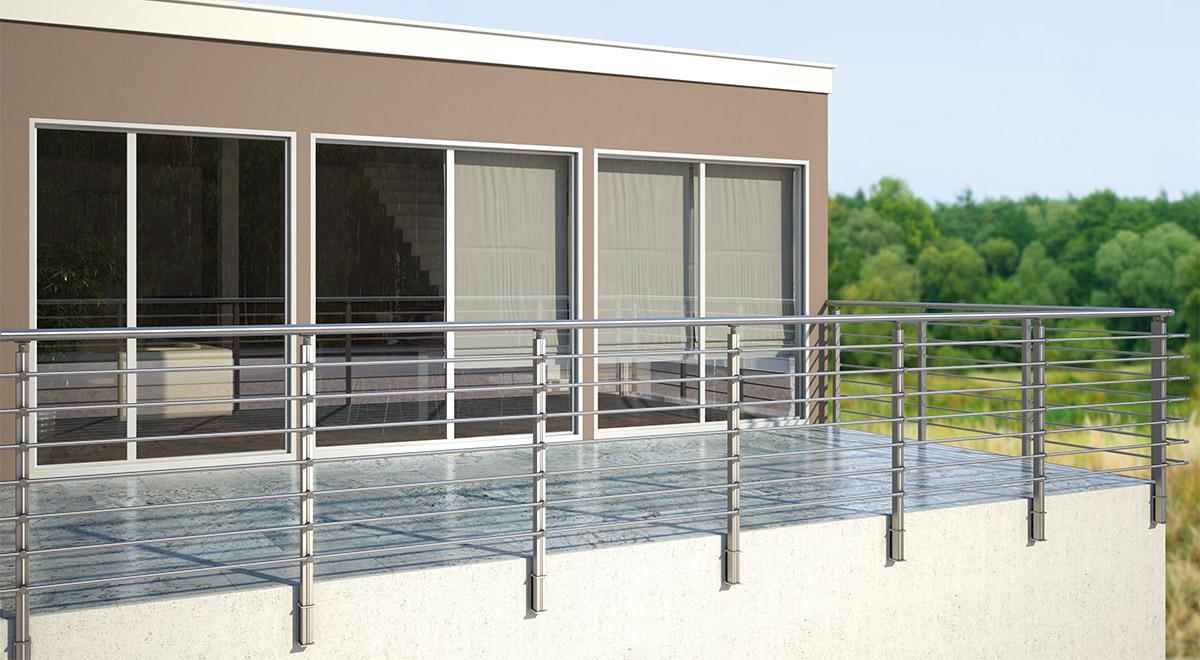 Aluminijumska ograda Elegant CL12
