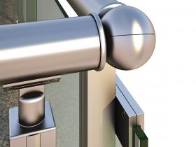 Aluminijumska staklena ograda Elegant CL13