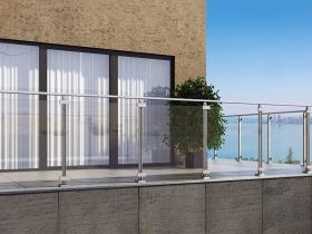 Aluminijumska staklena ograda Elegant LX18