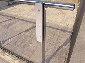 Aluminijumska staklena ograda Elegant LX20