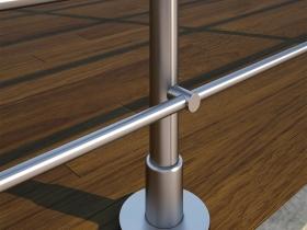Aluminijumska ograda Elegant RL10