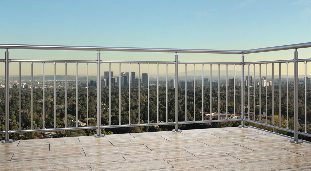 Aluminijumska ograda Elegant RL11
