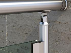 Aluminijumska staklena ograda Elegant RL12
