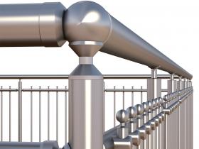 Aluminijumska ograda Elegant RL15
