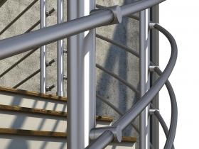 Aluminijumska ograda Elegant RL17