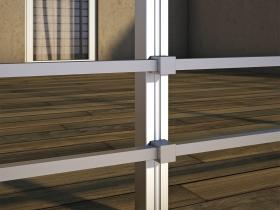 Aluminijumska ograda Elegant SL10