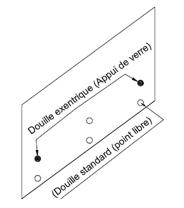 Crea GT50 podešavanje stakla - stepenice