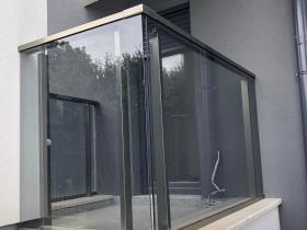 Aluminijumska staklena ograda Elegant SL15