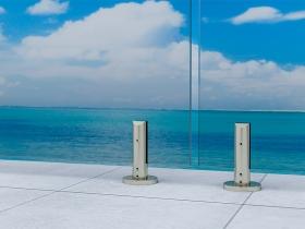 Staklene ograde Elegant - nasadni sistem Vista 300