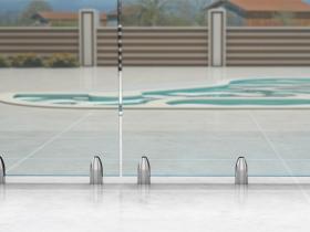 Staklene ograde Elegant - nasadni sistem Vista 310