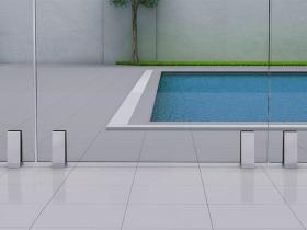 Staklene ograde Elegant - nasadni sistem Vista 330